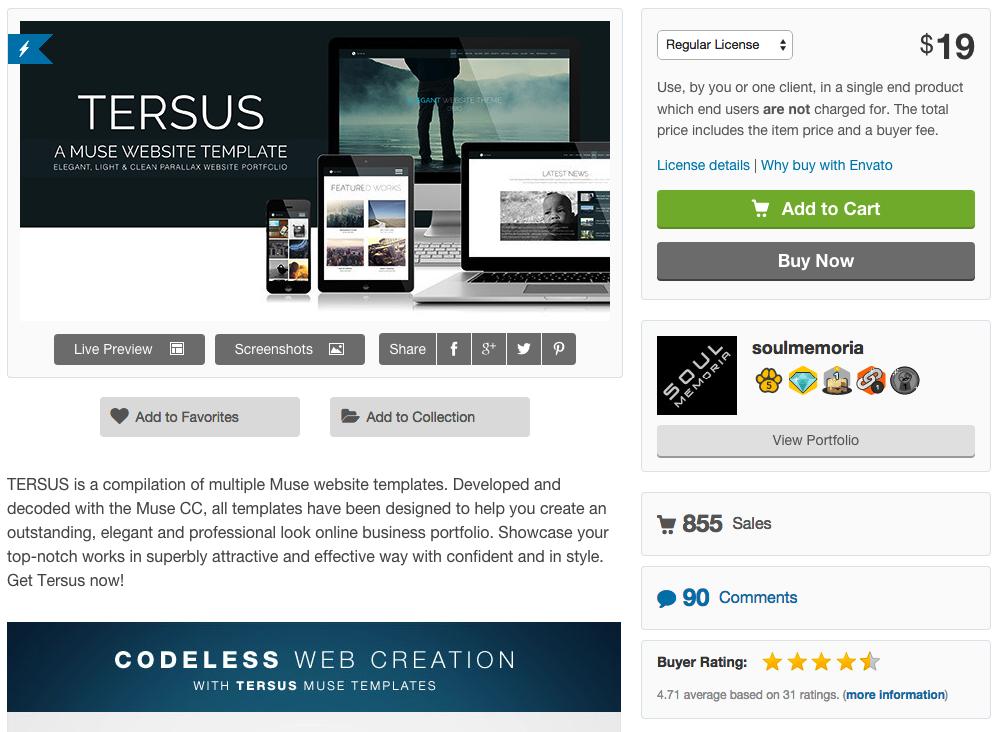 Видео интервью. Как продавать шаблоны сайтов Adobe Muse на themeforest.net?